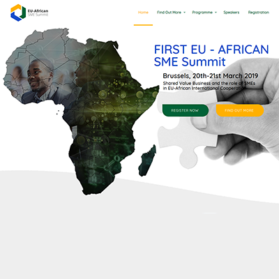 A WEBSITE FOR THE FIRST EVER EU-AFRICAN SME SUMMIT